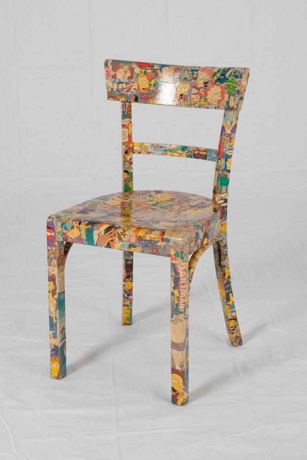 Stuhl comic  Stühle - Teilnehmer - Kunstprojekte Ueberau